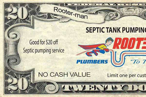 Rooter-Man Coupon