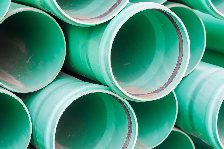 sewer line pipes