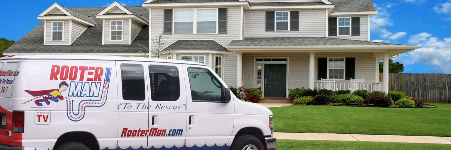 Rooter-Man Drain Cleaning Van